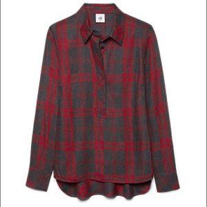 Cabi Plaid Shirt sz M